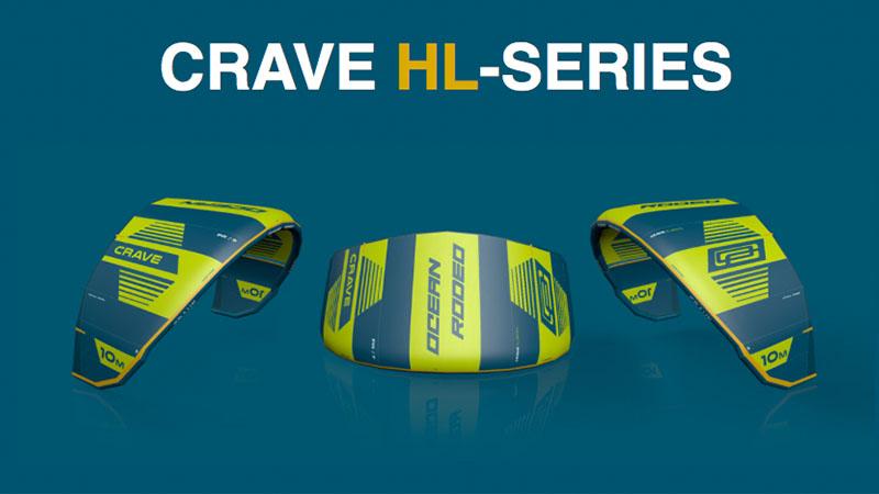 Crave HL series kite