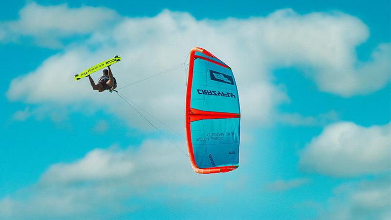 CrazyFly Sculp kite test