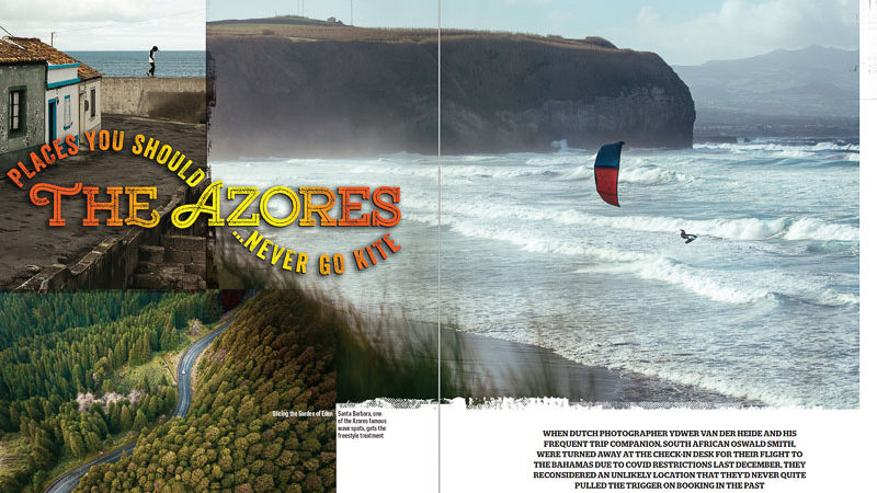 Kitesurfing in the Azores