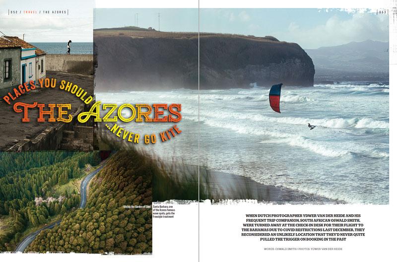 Kitesurfing the Azores