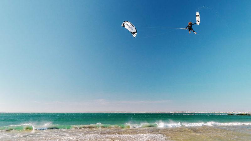 Janek board off kite loop