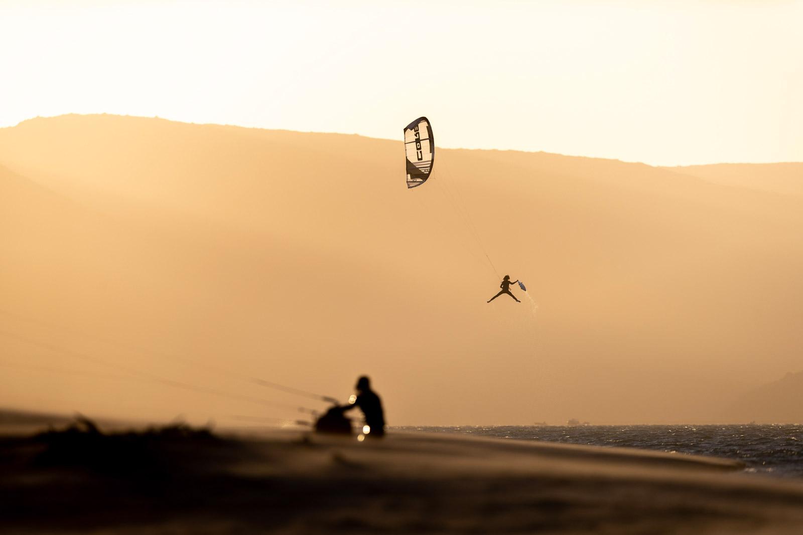 Janek soaring on the XR7