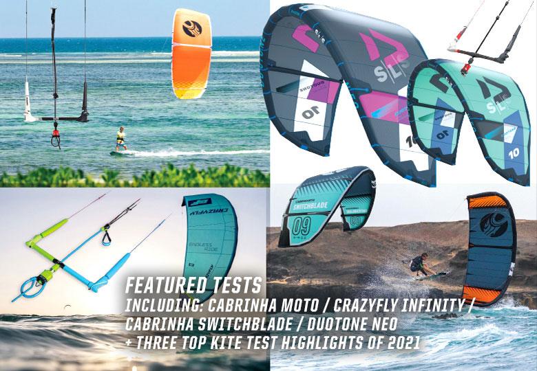 Kite tests in Kiteworld Summer issue 2021