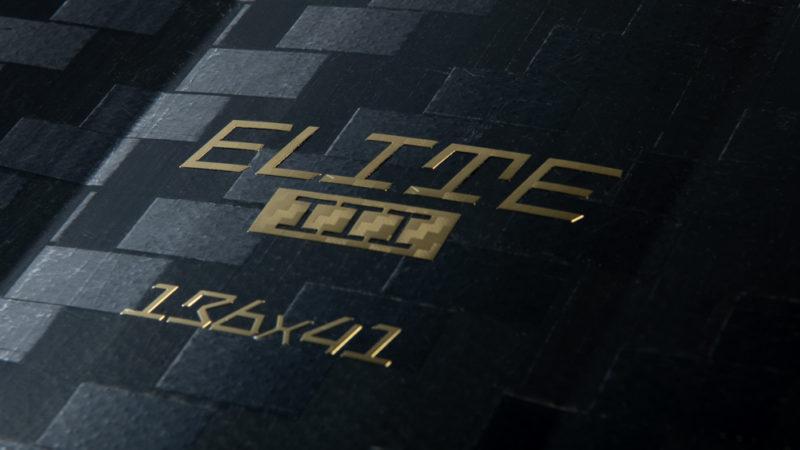 Close up on the CrazyFly Elite III twintip