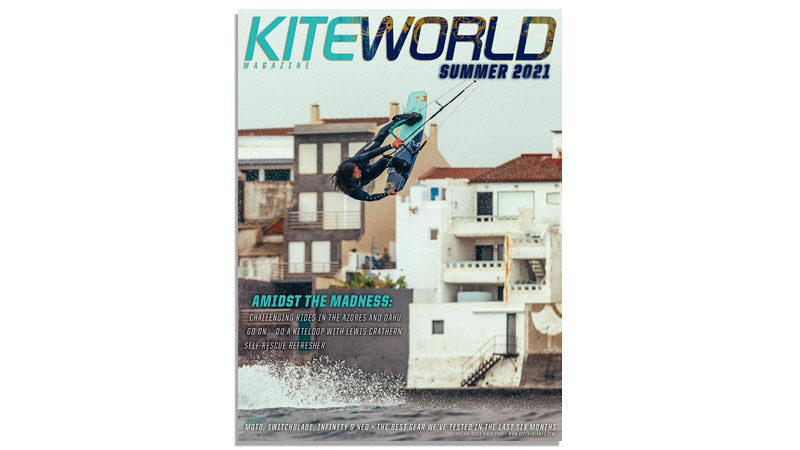 Kiteworld Magazine cover