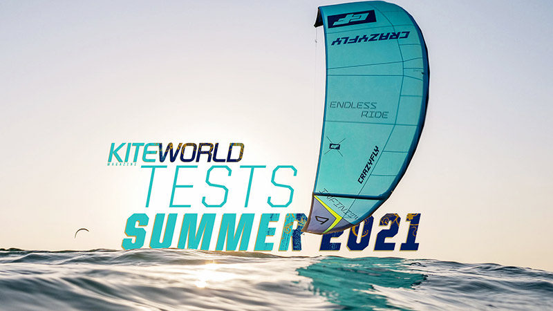 Kite tests in Kiteworld Magazine 2021