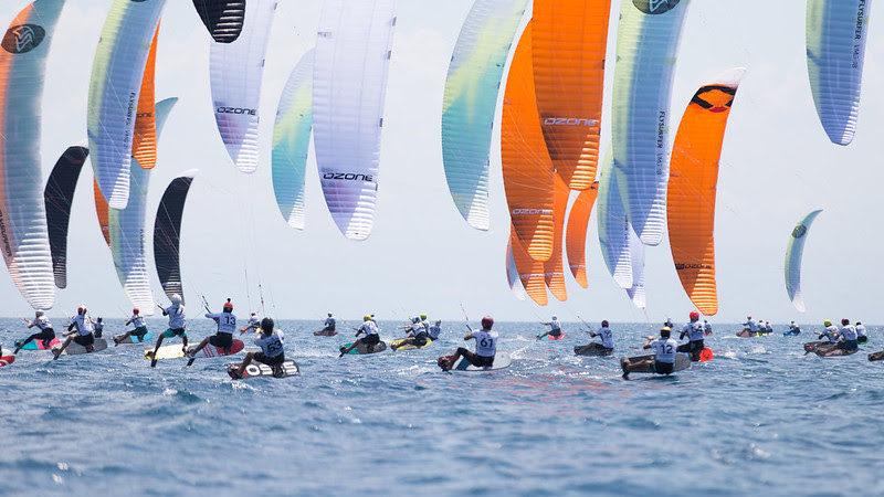 KiteFoil World Series race