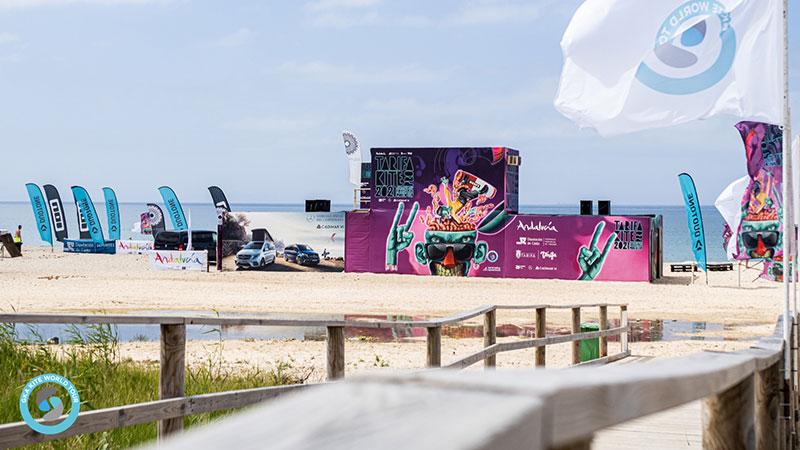 Tarifa Kite Pro 2021 beach