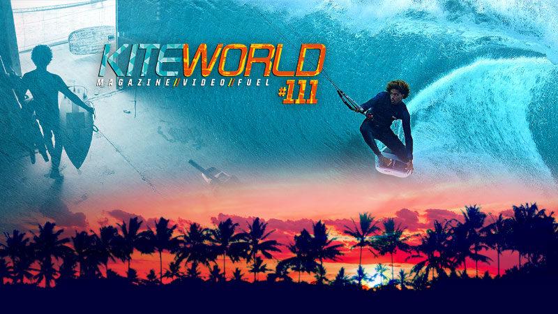 Free kitesurfing content in Kiteworld magazine issue #111