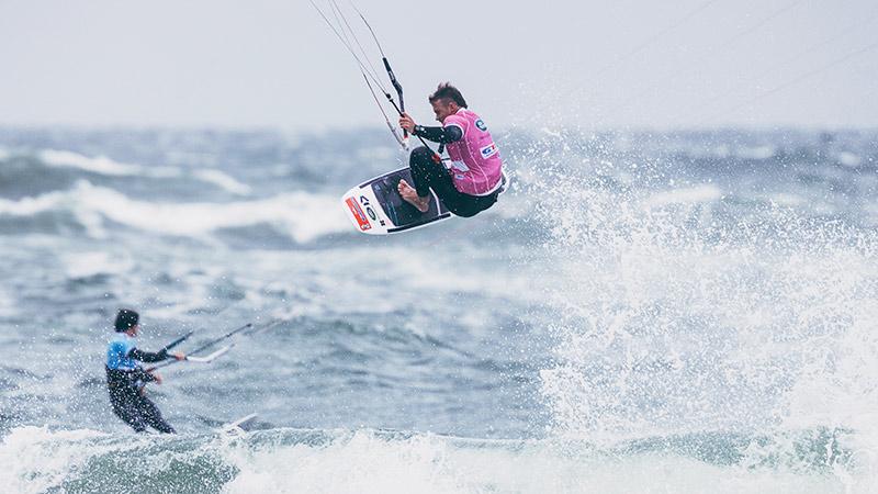GKA Kite World Tour James Carew in Sylt
