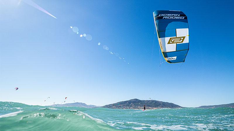 ocean rodeo rome kite test