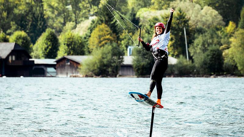Lauriane Nolot - KiteFoil Austria 2021