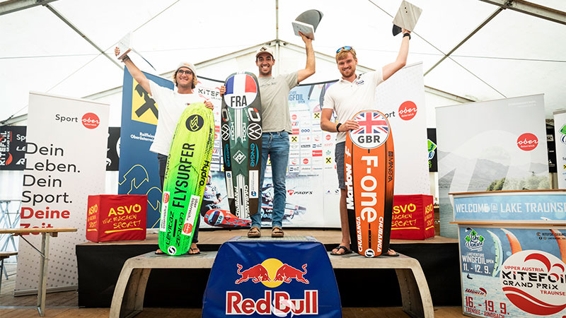 Mens Podium - KiteFoil World Series - Austria 2021