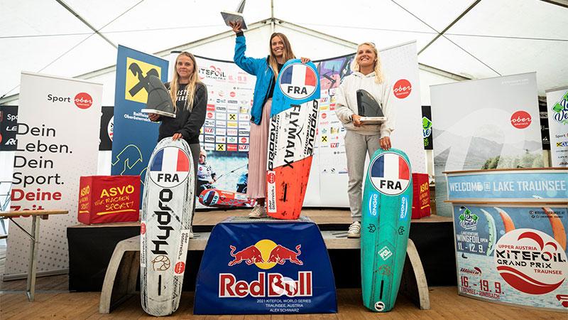 Womens Podium - KiteFoil World Series - Austria 2021