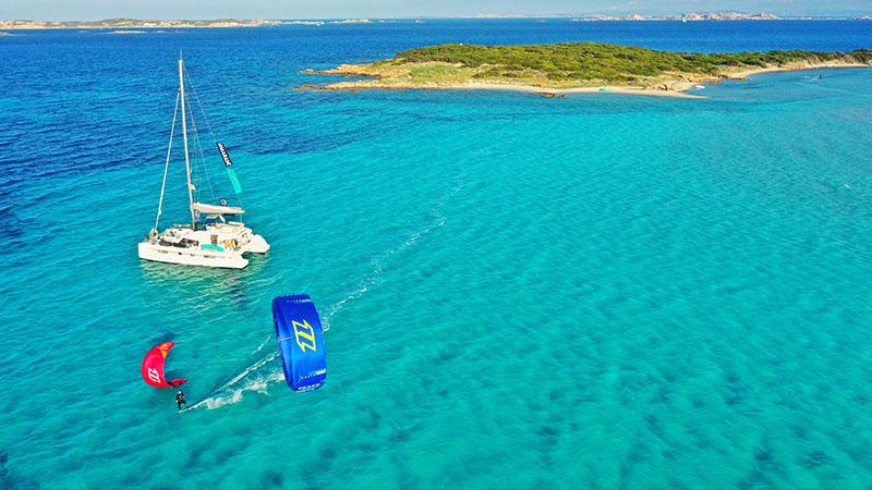 the action cruise north Sardinia trip